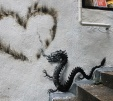 New Paintings on the Streets of Tokyo, Hong Kong, and Seoul by Pejac