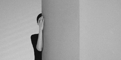 Black and White Surrealist Self-Portraits by Noell Oszvald